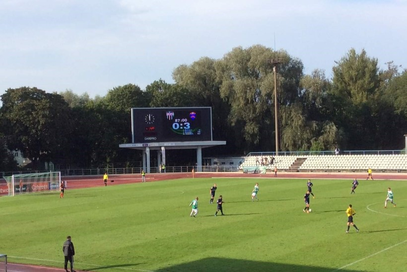 ÜLLATUS! Tallinna Levadia sai Sillamäe Kalevi käest 0:3 kolki!