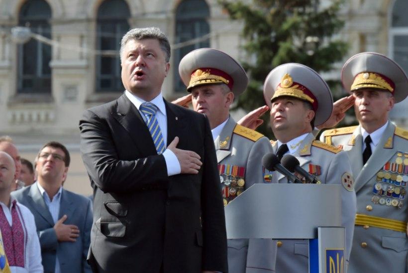President Porošenko: sõjaoht püsib veel aastaid