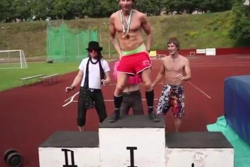 "VAATA: strippar Marcol valmis video loole ""Spordipäev"""
