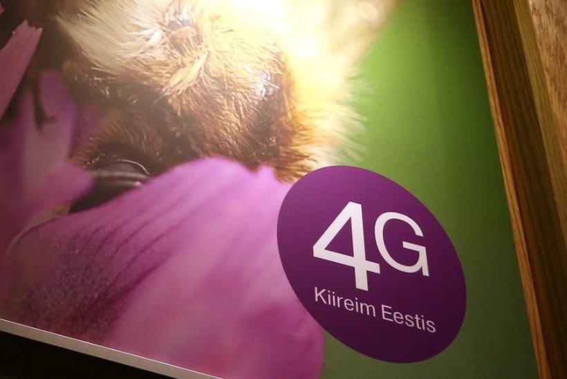 Ligi kolmandik EMT andmesideliikluse mahust toimub 4G võrgus