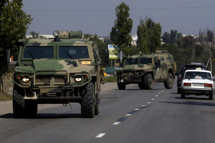"""Vene allikad: sõdurid sattusid Ukrainasse """"eksikombel"""""""