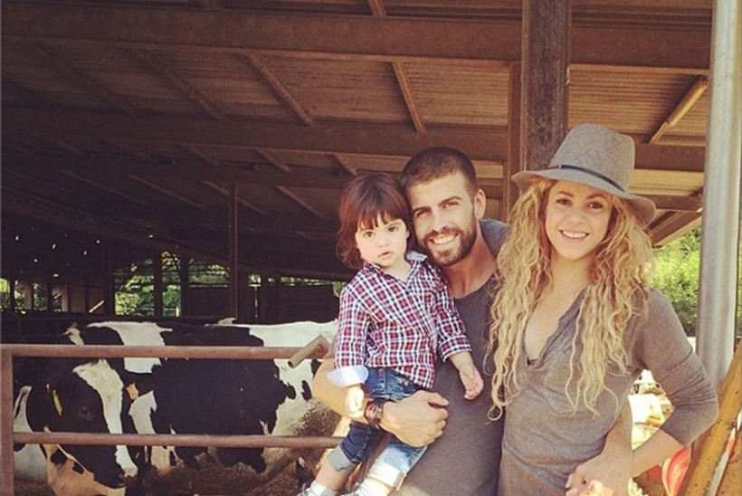 STAARBEEBI ON TEEL: Lauljatar Shakira ja jalgpallur Gerard Piqué ootavad teist last