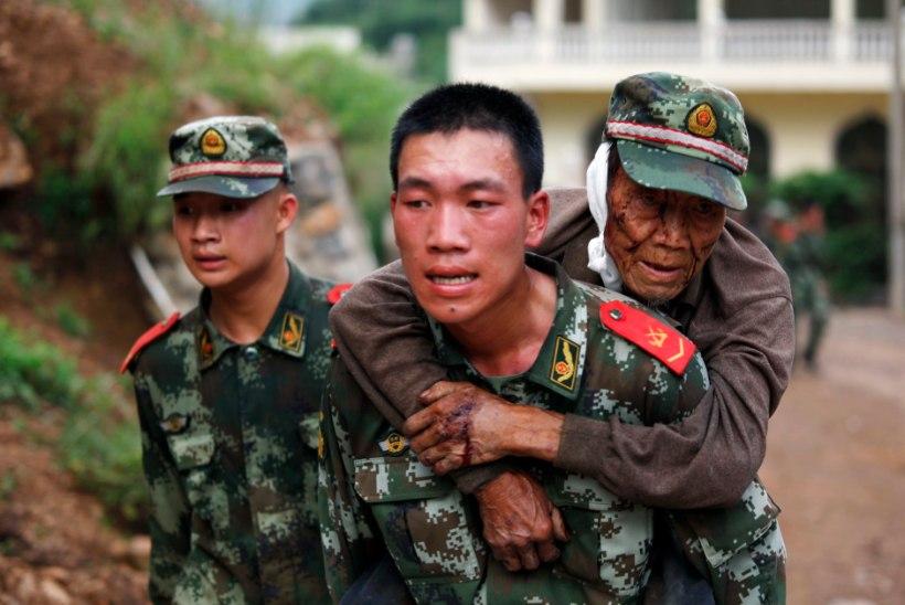 Hiinas purustas maavärin tuhanded hooned, hukkunute arv kasvab