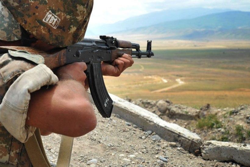 Mägi-Karabahhis on armeenlaste ja aserite tulevahetustes hukkunud 15 sõdurit