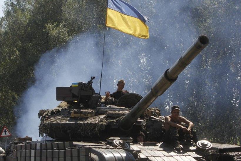 Ukraina väed rühivad Luganski poole