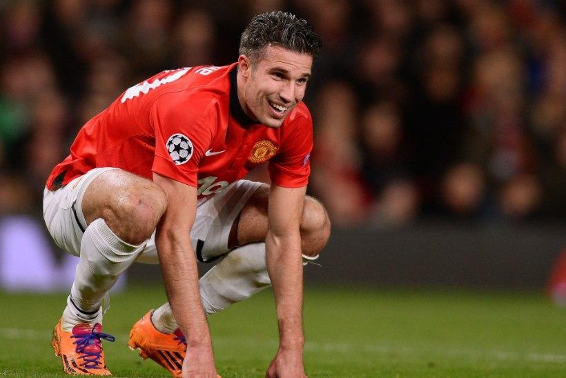 Robin van Persie Unitedi esimeses liigamängus ilmselt ei osale