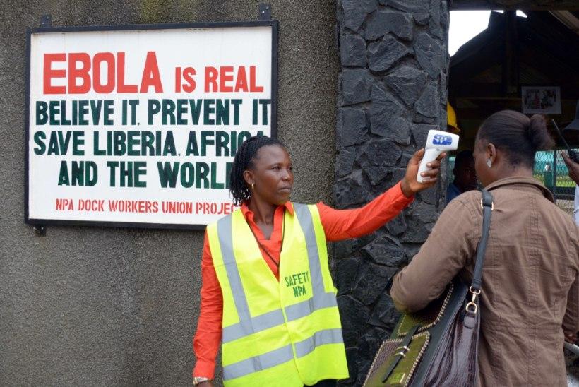 50 000 EUROT: Eesti toetab Ebola haiguspuhangu leviku tõkestamist Aafrikas