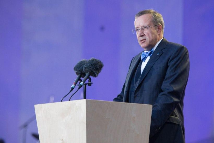 President Ilves: Vene vägede väljaviimine Eestist oli meile esmatähtis Lääne ustest sisse pääsemiseks
