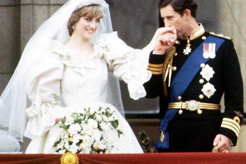 Printsess Diana 33 aasta tagusest pulmast pärit tordilõik müüdi oksjonil suure summa eest