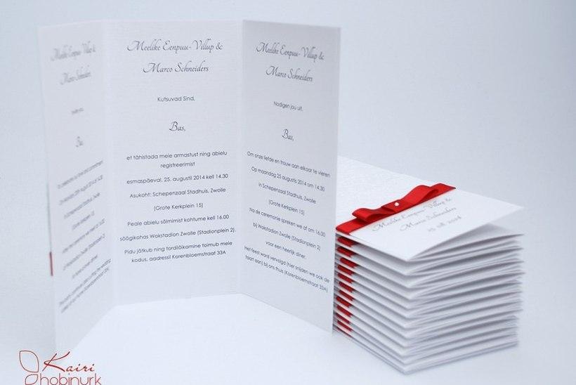 Pulmablogi: pulmakutsed telli tegijalt!