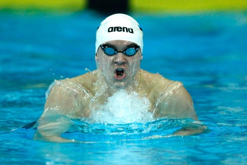 Martin Allikvee Sloveenia ujumismeistrivõistlustel teine