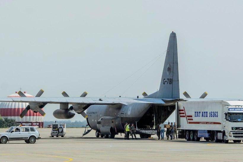 Harkivist lendas Hollandisse veel üks lennuk ohvrite säilmetega