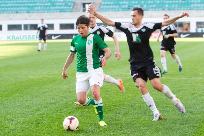 FC Flora ei suutnud 11. liigamängu järjest Levadiat kotti pista