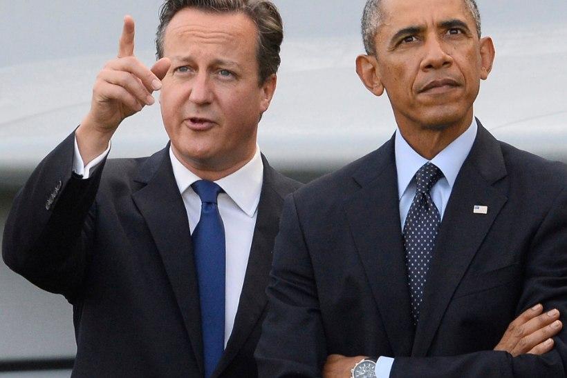 Cameronil on jäänud pantvang Hainesi päästmiseks kümme päeva