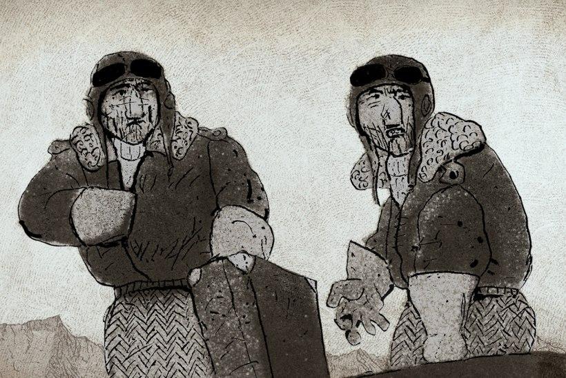 Priit ja Olga Pärn panevad liiva pornograafilise joonisfilmi rakkesse