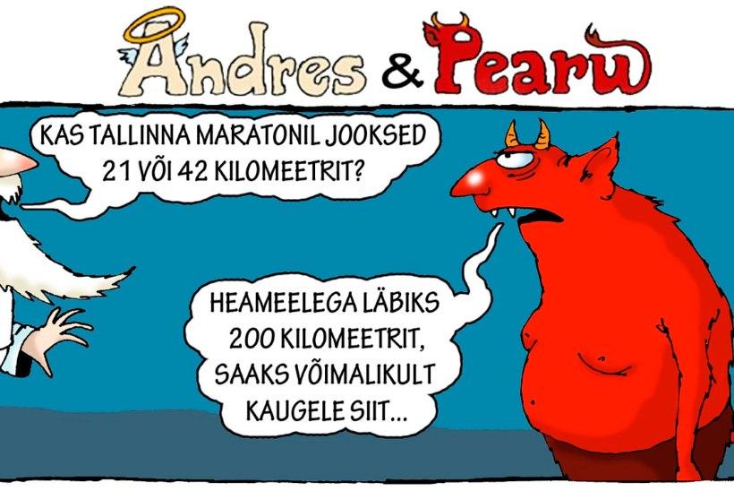 Andres ja Pearu: Tallinna maraton
