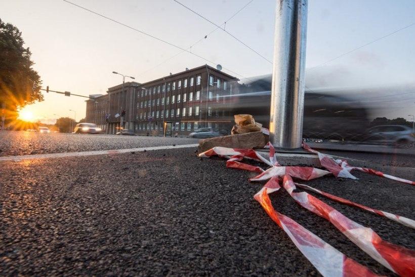 Tallinna Pärnu maanteel on tavapärane liiklus taastatud