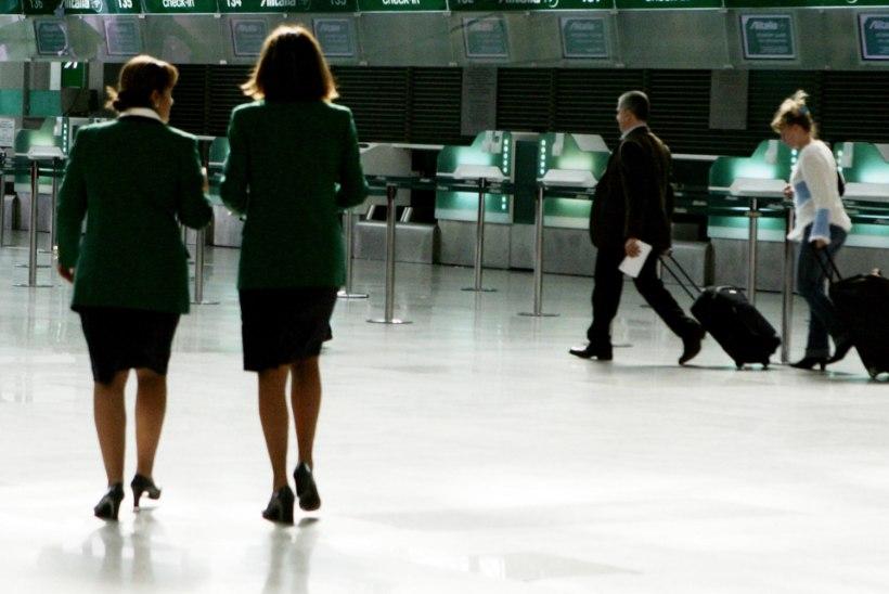 Rooma lennujaamas puhkes pommipaanika
