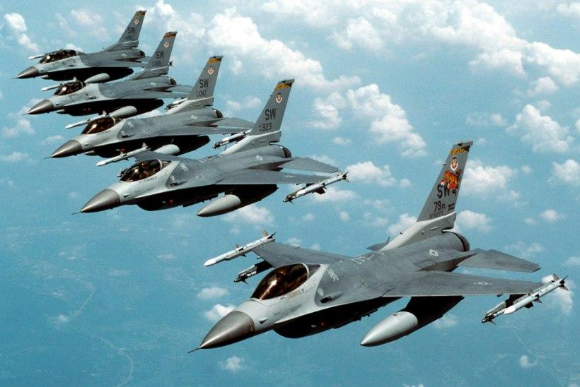 USA pommitas Põhja-Iraagis Islamiriigi väljaõppelaagrit