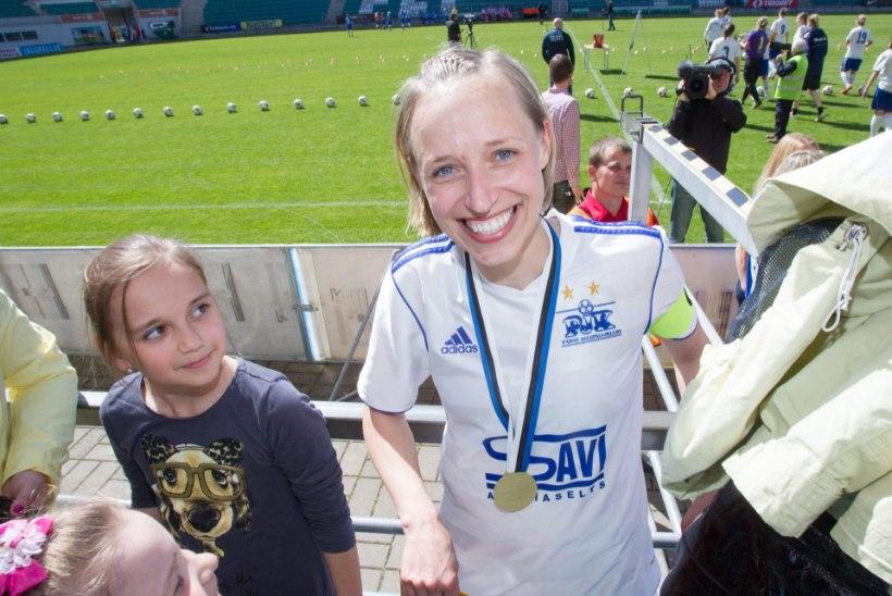 """Naiste jalgpalli arengut pärsib """"väikese Eesti sündroom"""""""