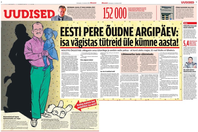 VANA HITT   EESTI PERE ÕUDNE ARGIPÄEV: isa vägistas tütreid üle kümne aasta!