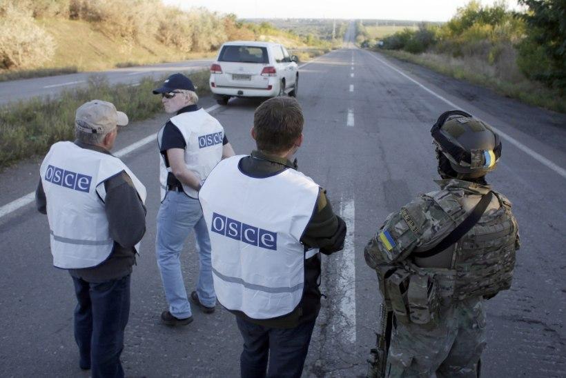 OSCE missioon Ukrainas suureneb