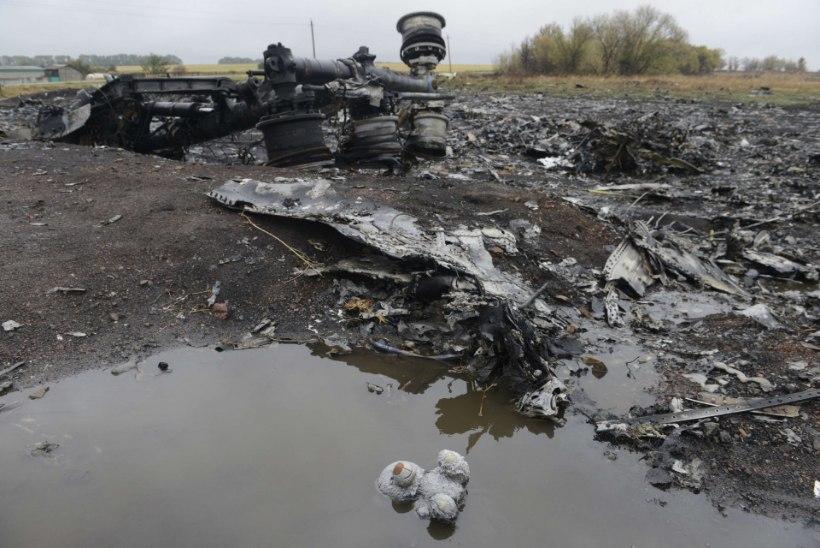 Malaisia ajaleht: ligipääs reisilennuki allakukkumiskohta Ukrainas on mineeritud