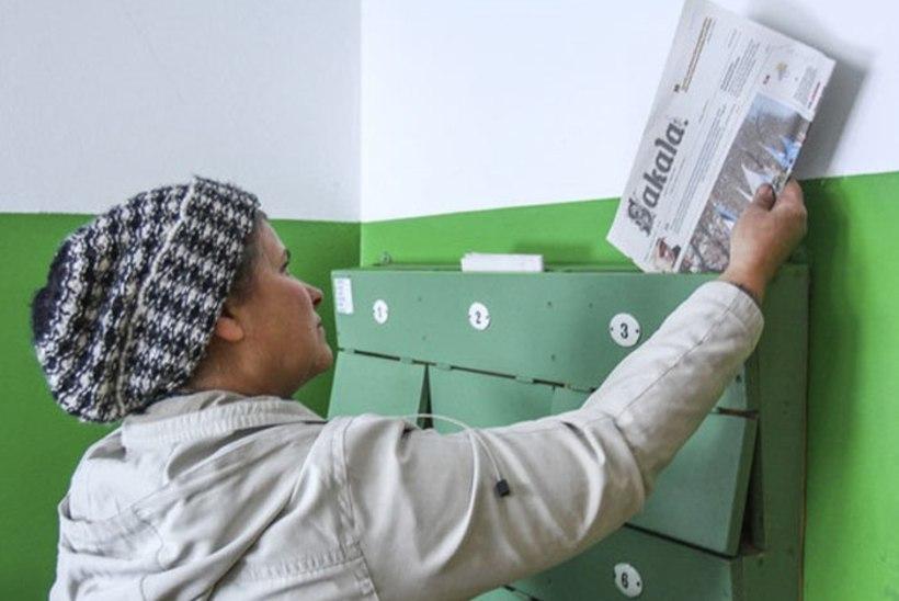 Maakonnalehed korraldasid seoses Eesti Posti hindadega ühisaktsiooni