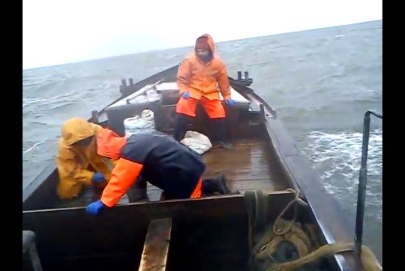 Uppunud laevalt päästetud  kalur: kaldani poleks me mingil juhul ujuda jõudnud!