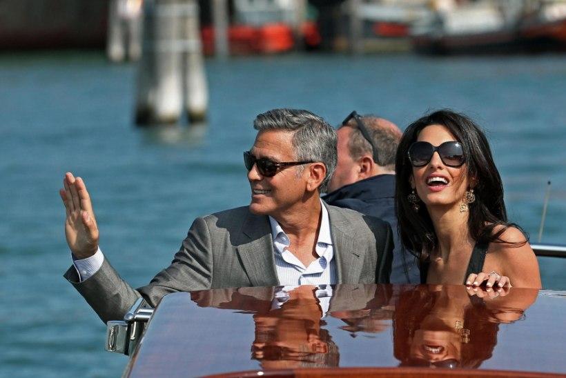 Paadunud poissmees Clooney purjetas abielusadamasse