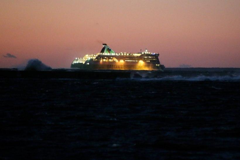 Tallinki reisijate arv augustis vähenes