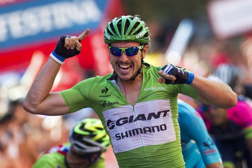 Degenkolbile Vueltal kolmas etapivõit, eestlased peagrupis