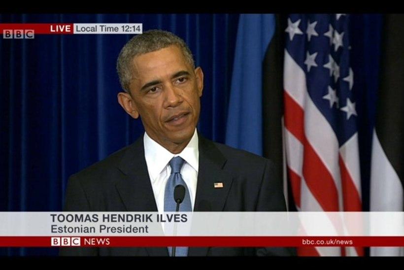 Obama tsiteeris Underit