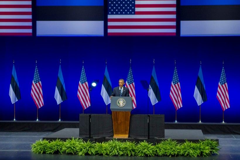 PÕLETAV KÜSIMUS JA FOTOD: kuidas Obama nii soravalt rääkis? Ja kas tõesti peast?