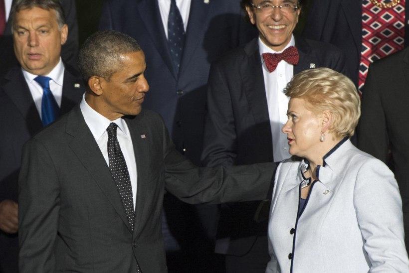 Grybauskaitė: Putin tuleb peatada