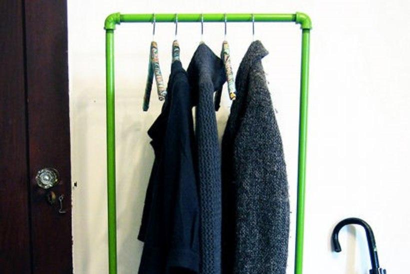 Tee ise: riidekapi aseaine