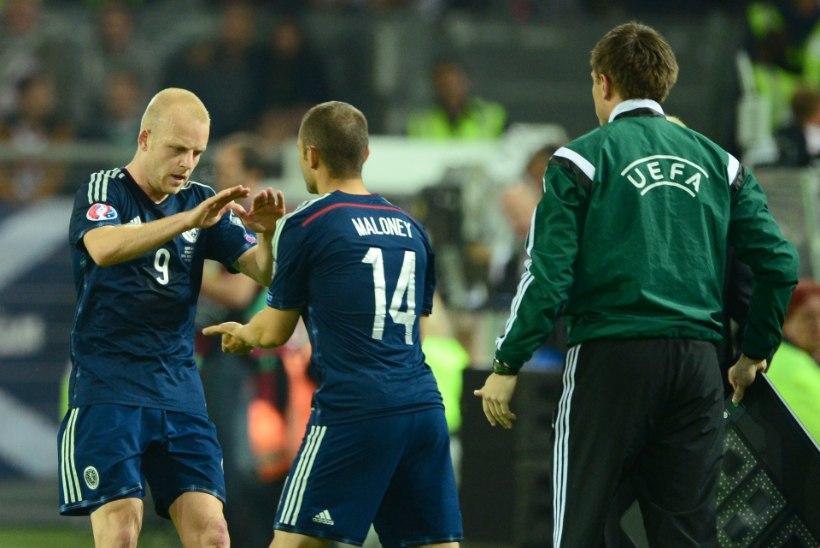 FOTOD JA VIDEOD: Saksamaale närviline võit Šotimaa üle