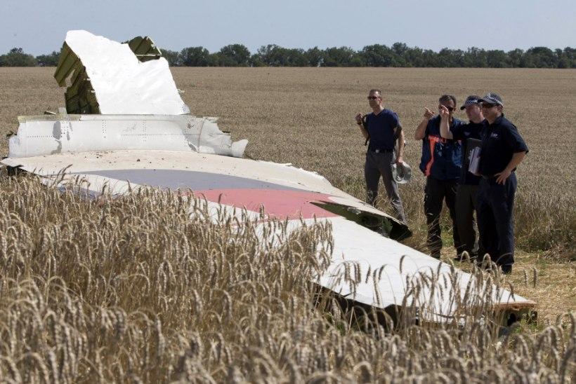 Esialgne raport Ukraina lennukatastroofi kohta: lennuki läbistas õhus suur hulk ülikiireid objekte