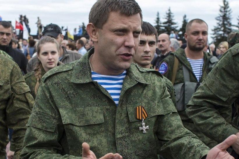 Ukraina mässulised: meil pole tehnikat, millega lennukit alla tulistada