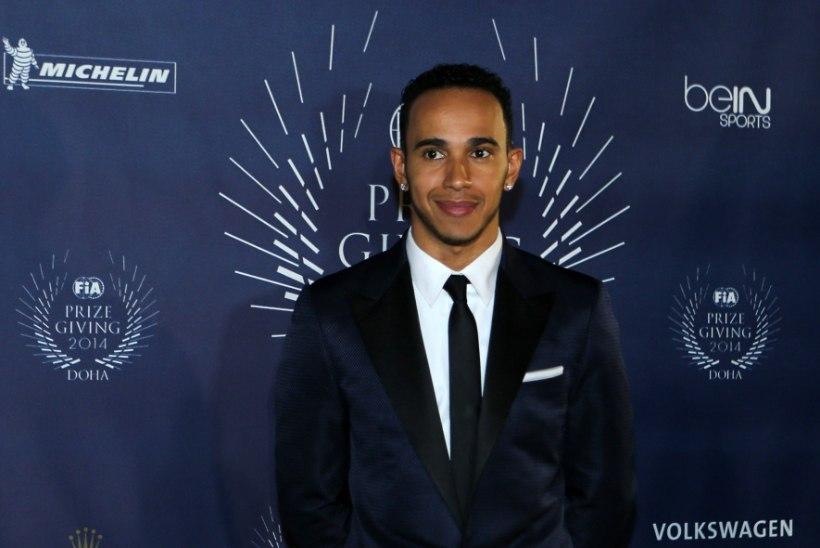 Lewis Hamilton on kuulsa räppari abiga lindistanud ligi 30 lugu