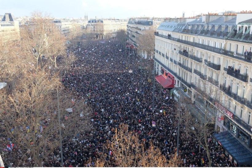 GALERII JA VIDEO:  Pariisis kogunes miljon inimest ühtsusmarsile