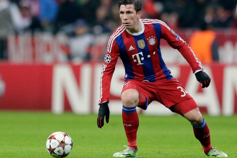 Klavani klubi laenas Bayernilt noore talendika poolkaitsja