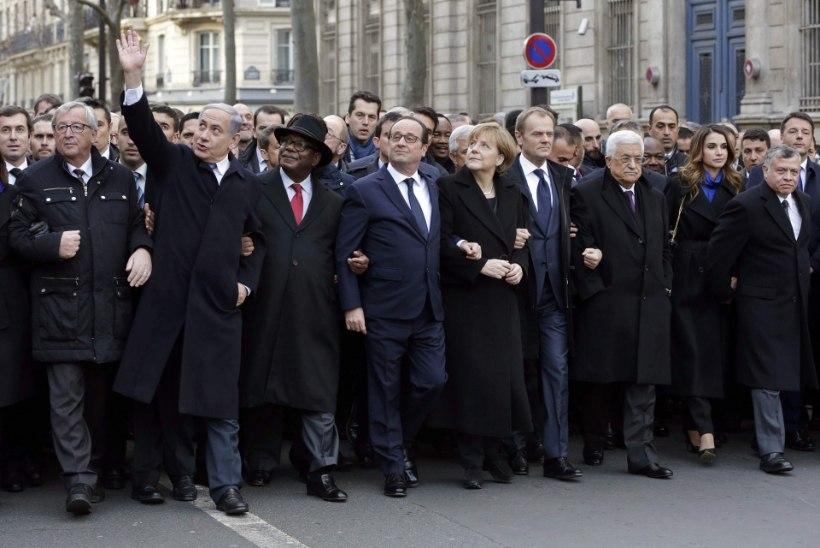 Ühtsusmarss ühendas maailma