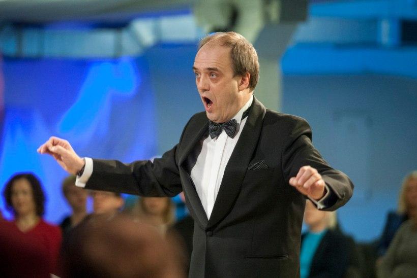 FOTOUUDIS: dirigeerib kahe väärika tiitli kandja Hirvo Surva