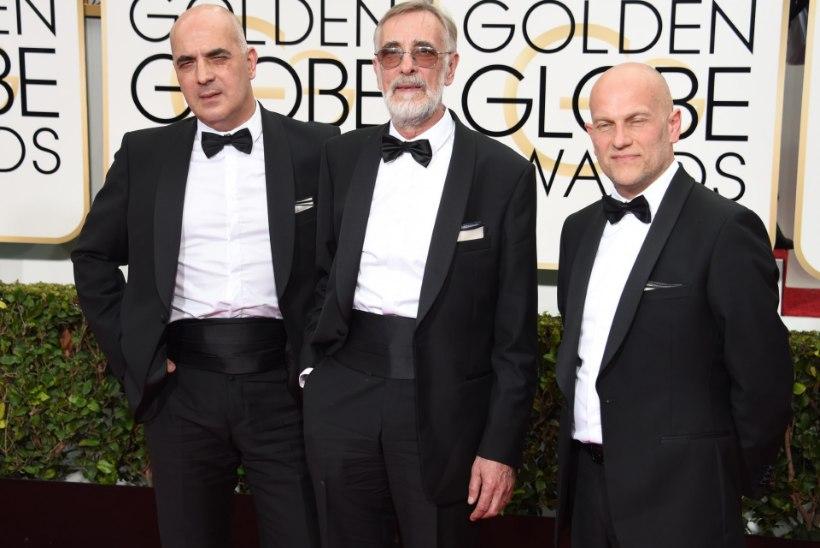 """FOTOD: filmi """"Mandariinid"""" meeskond Kuldgloobuse galal"""