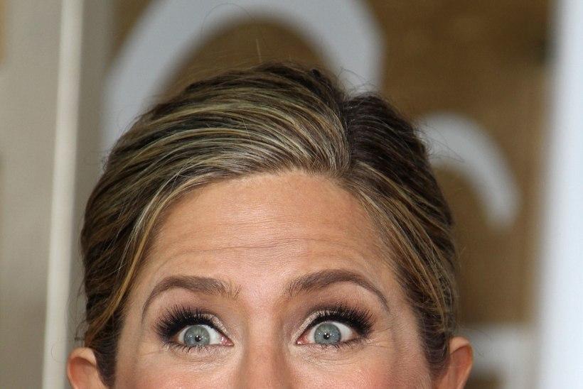 FOTOD: Jennifer Aniston tegi Kuldgloobuste galal kummalisi nägusid