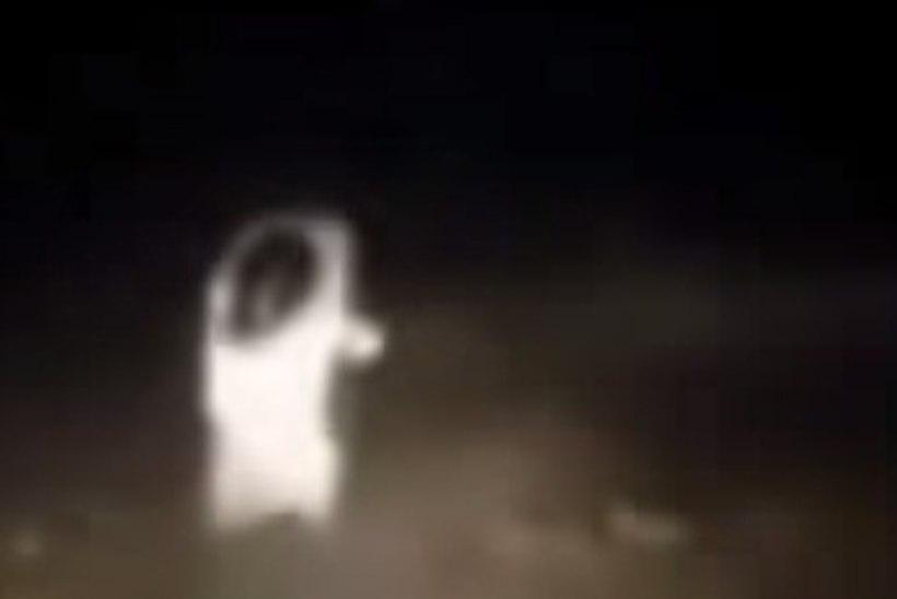 VIDEO: kas autotäit hirmunud noori jälitas tõesti kummitus?