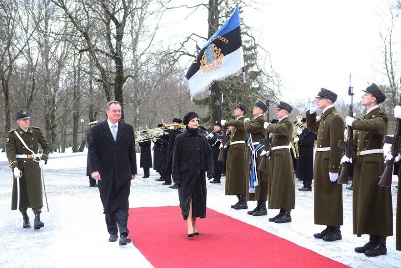 FOTOUUDIS: Eesti riigipeale andsid volikirja Mauritaania, Albaania ja Ungari suursaadik