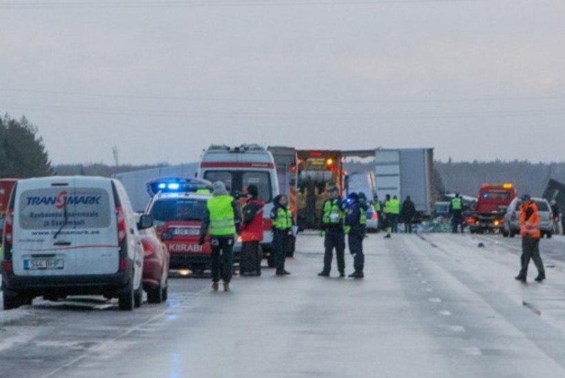 Maanteeameti kommentaarid täna maanteedel valitsenud libeduse kohta