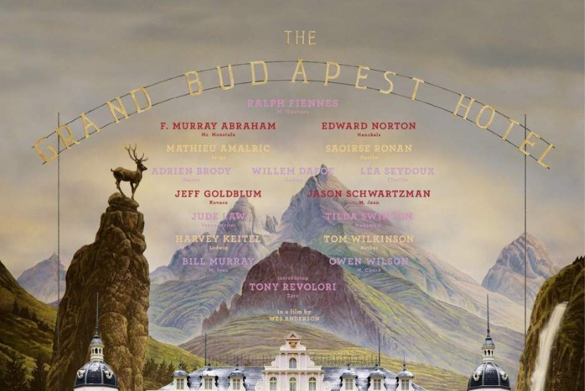 """""""Grand Budapest  Hotell"""" ja """"Lindmees"""" püüavad üheksat Oscarit"""